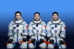 聂海胜、刘伯明、汤洪波 神舟十二号载人飞行任务航天
