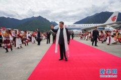 习近平在西藏考察